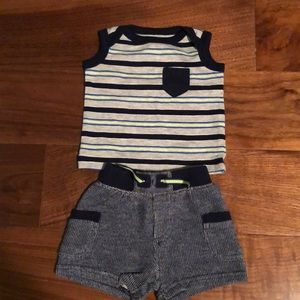Cherokee 2 piece summer boys outfit